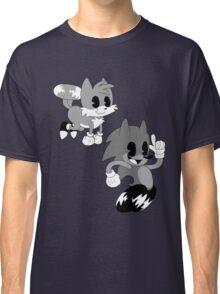 Retro cartoon Sonic Classic T-Shirt