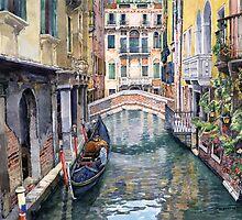 Italy Venice Trattoria Sempione by Yuriy Shevchuk