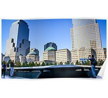 At The 9/11 Memorial Poster