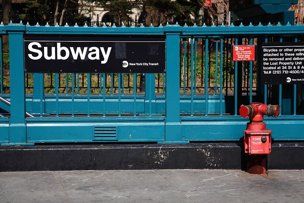 New York City Subway by Frank Romeo
