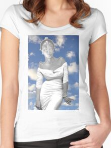 venus de maria Women's Fitted Scoop T-Shirt