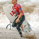 Kelly Slater - Rip Curl Pro, Bells Beach 2013 by John Conway
