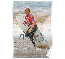 Kelly Slater - Rip Curl Pro, Bells Beach 2013 Poster