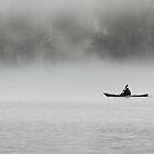 Kayak on Lake Burley Griffin by Tony Theobald