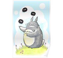 Juggling Totoro Poster