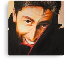 David Tennant Oil Painting Canvas Print