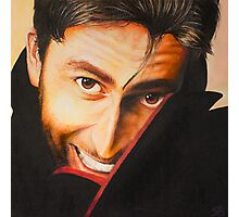 David Tennant Oil Painting Photographic Print