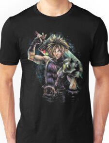 EPIC CLOUD STRIFE FINAL FANTASY VII PORTRAIT Unisex T-Shirt