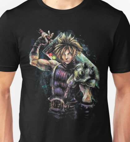 EPIC CLOUD STRIFE FINAL FANTASY VII PORTRAIT Unisex T-Shirt
