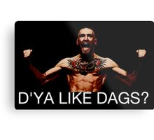 conor mcgregor do ya like dags snatch crossover Metal Print