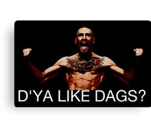 conor mcgregor do ya like dags snatch crossover Canvas Print