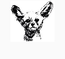 Fennec Fox - in black and white Unisex T-Shirt