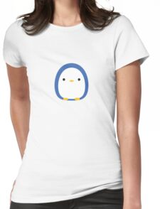 Roly Poly Penguin Womens Fitted T-Shirt
