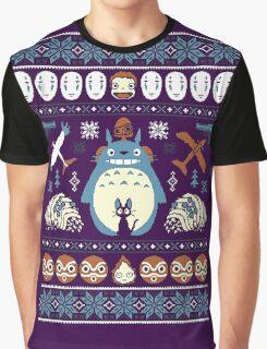 Totoro Sweater Graphic T-Shirt