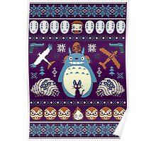 Totoro Sweater Poster