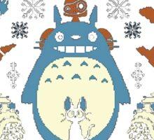 Totoro Sweater Sticker