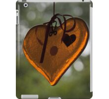 My Heart's Too Big for This iPad Case/Skin