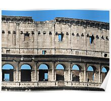 Detail of Colosseum Facade Poster