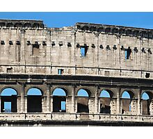 Detail of Colosseum Facade Photographic Print