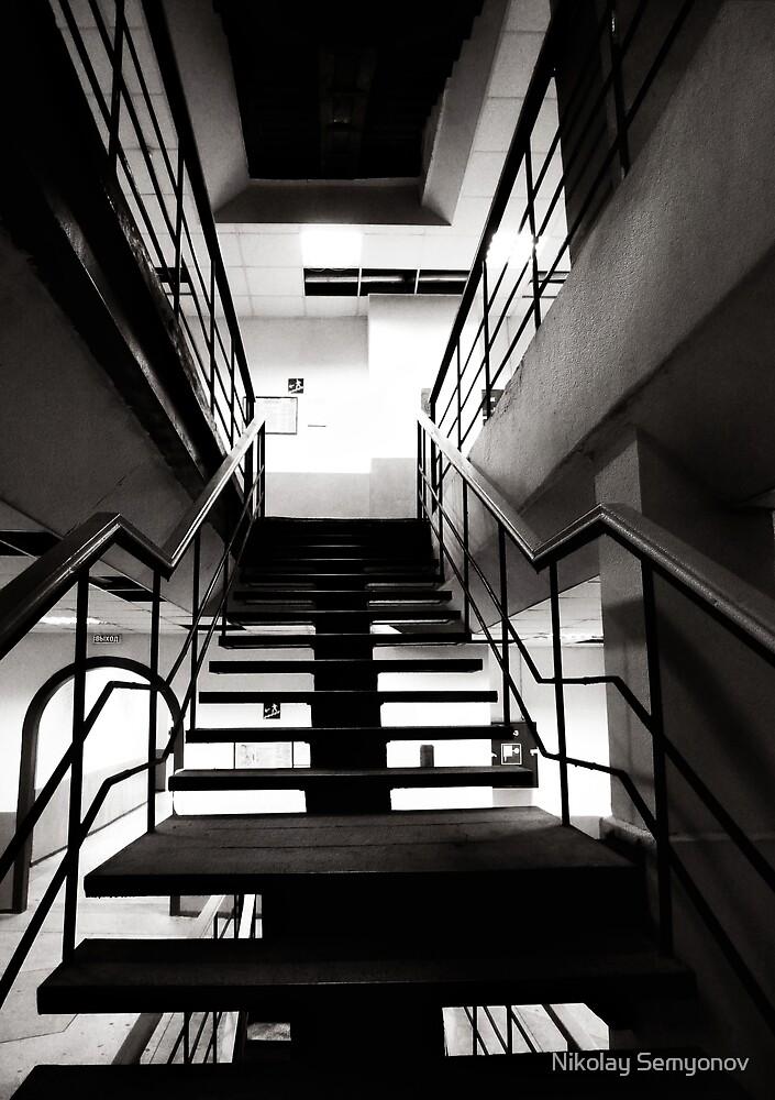 eigth floor three by Nikolay Semyonov