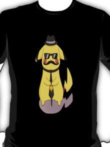 Badass Pikachu (Moustache) T-Shirt