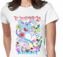 EASTER BUNNY- Womens Fitted T-Shirt