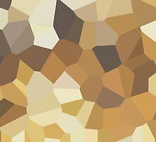 Large Brown Crystals by jojobob