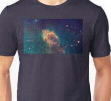 Pillar of gas in the Carina Nebula, nebulae, space, Unisex T-Shirt