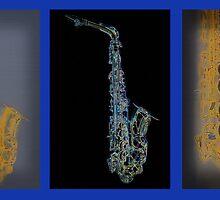 Alto Sax Trio by JohnYoung