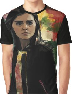 Clara Oswald The Impossible Girl Graphic T-Shirt