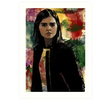 Clara Oswald The Impossible Girl Art Print