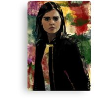 Clara Oswald The Impossible Girl Canvas Print