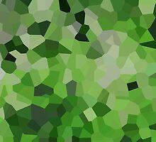 Small Green Crystals by jojobob