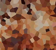 Small Orange Crystals by jojobob