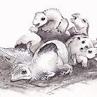 Jurassic Nursery by Loukash