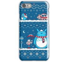 Pokemon Totoro Neighbor iPhone Case/Skin