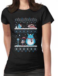 Pokemon Totoro Neighbor Womens Fitted T-Shirt