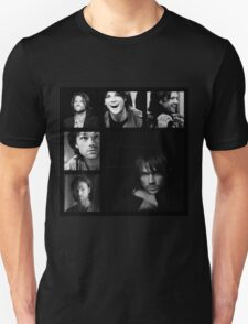 Jared Padalecki in Black and White T-Shirt