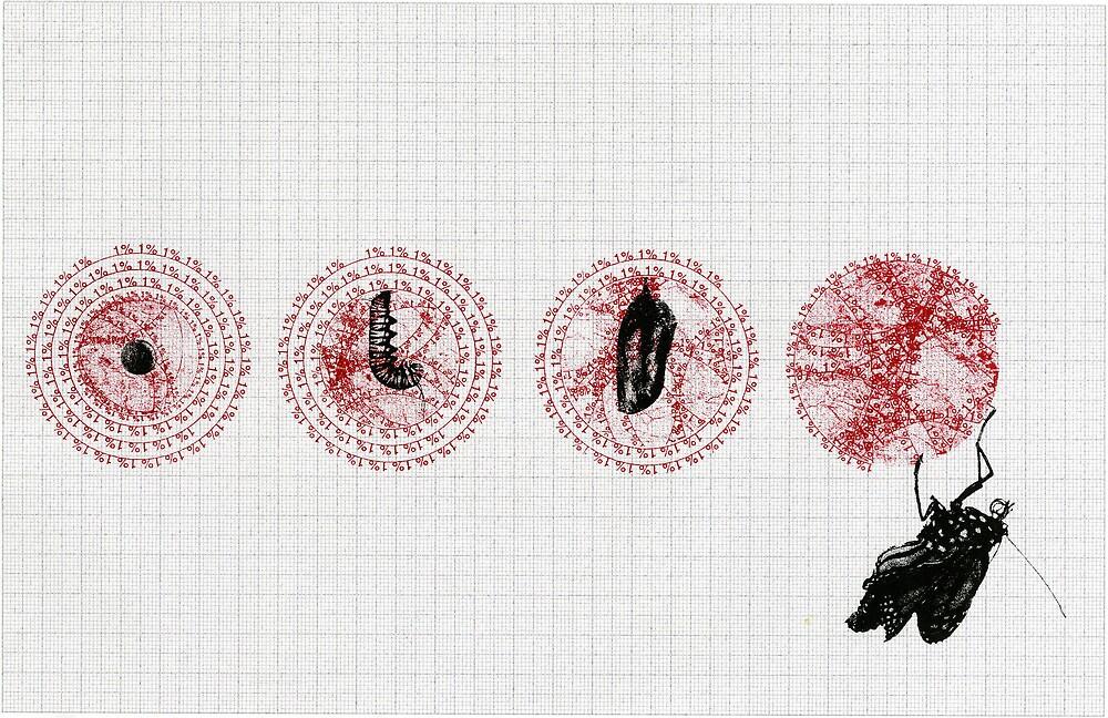Social Metamorphosis  by Metamorphic Illustration