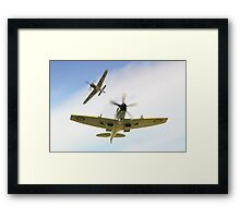 Dogfight  Framed Print