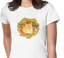Vintage Posie Womens Fitted T-Shirt
