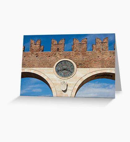 Porta Bra in Verona Greeting Card