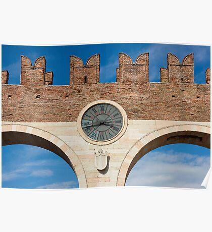 Porta Bra in Verona Poster