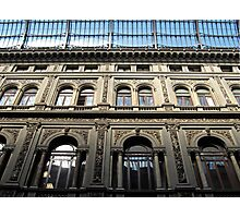Galleria Umberto I detail Photographic Print