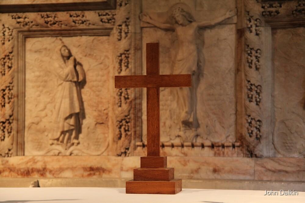 Easter Cross by John Dalkin