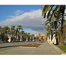 The Arc de Triomf in Barcelona Photographic Print