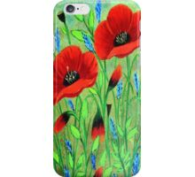 Poppies for you iPhone Case/Skin