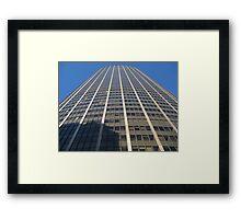 Paris Montparnasse Tower Framed Print