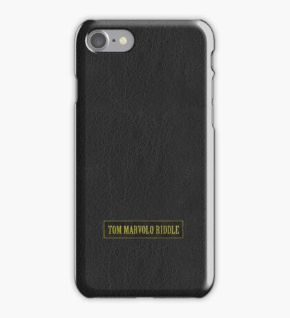 Tom Riddle's Diary iPhone Case/Skin
