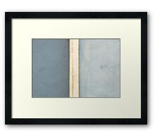 A Tale of Two Halves Framed Print